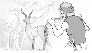 the_hunter_and_the_deer